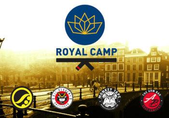 Leite, Wardziński, Meregali i inni na europejskim obozie Royal Camp