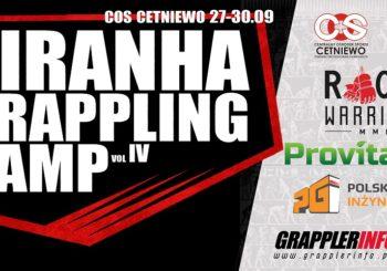 Piranha Grappling Camp IV już pod koniec września !