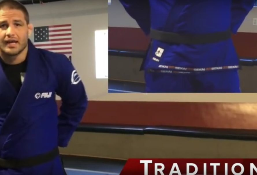 Travis Stevens i pięć patentów na wiązanie pasa [Video]