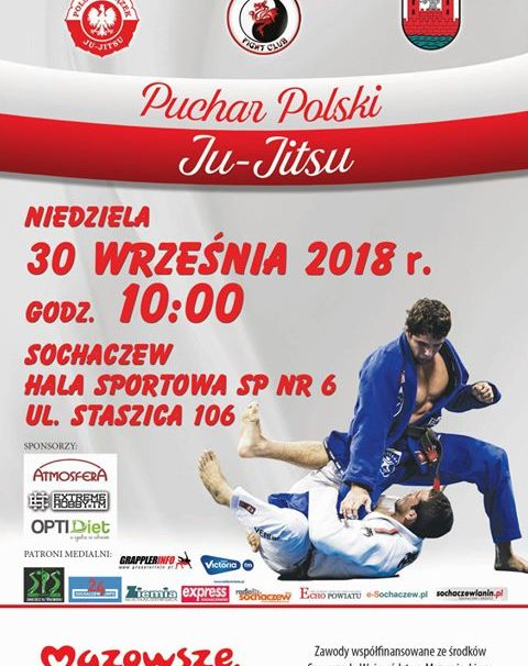 Puchar Polski Ju-Jitsu w Sochaczewie – komunikat organizacyjny