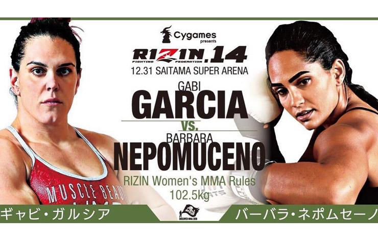 Gabi Garcia wraca do klatki na sylwestrowej gali RIZIN