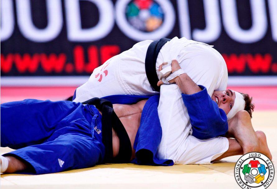 Najlepsze akcje w parterze ze światowych mat judo w 2018.