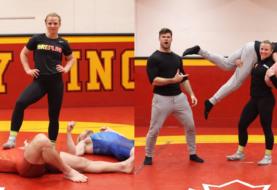 Youtuberzy ze świata fitness na treningu ze złotą medalistką olimpijską w zapasach