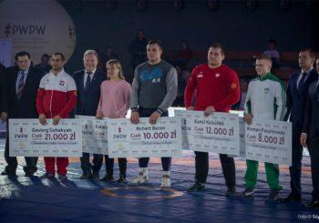 HL z drużynowych MP oraz nagrody pieniężne dla najlepszych polskich zapaśników
