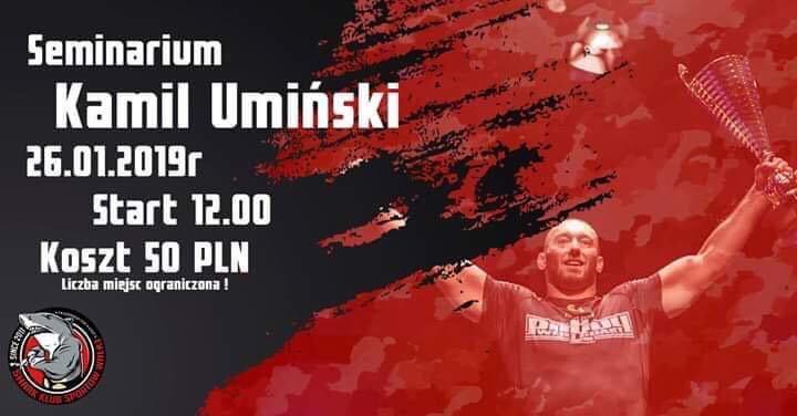 Seminarium z Kamilem Umińskim w klubie Shark Łódź