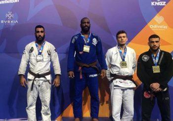 Bartek Zawadzki z brązowym medalem Mistrzostw Europy IBJJF 2019