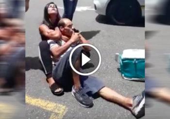 Dziewczyna powstrzymuje złodzieja od ucieczki używając BJJ [Video]