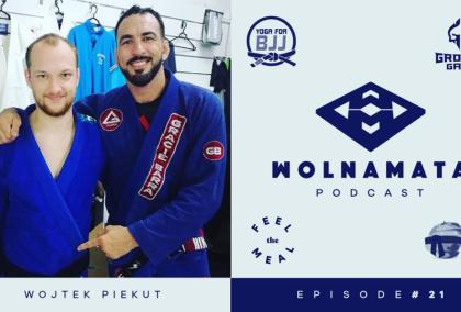 Wolna Mata Podcast #21 - Wojtek Piekut