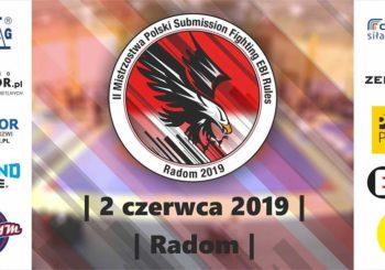 II Mistrzostwa Polski Submission Fighting EBI Rules już na początku czerwca