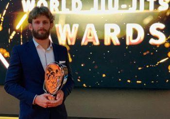 Adam Wardziński wyróżniony jako ścisła czołówka światowa i europejska na rozdaniu nagród UAEJJF