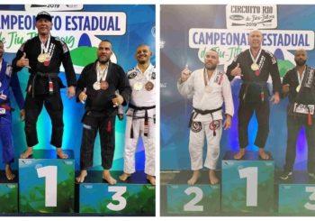Kornel Zapadka z podwójnym złotem na Campeonato Estadual de Jiu-Jitsu 2019 w Rio De Janeiro