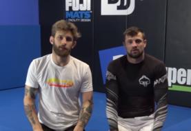 Krótkie nagrania wideo ze szkoleniówki Adama Wardzińskiego [BJJFanatics]
