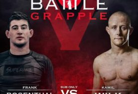 Kamil Wilk vs Frank Rosenthal w walce głównej na gali Battle Grapple V