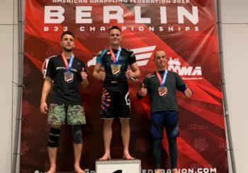 Kacper Rot ze złotymi medalami po AGF Berlin Open Championships 2019