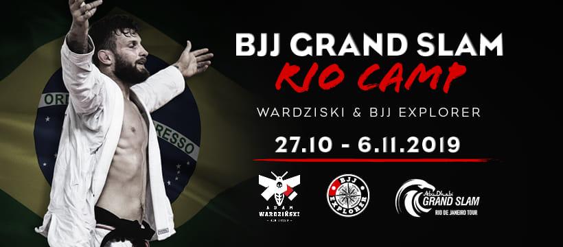 BJJ Grand Slam Rio Camp – Wardzinski & BJJ Explorer