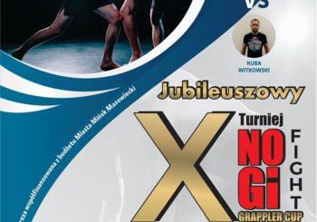 """Janusz Andrejczuk vs Kuba """"Watson"""" Witkowski zawalczą superfight na X No-Gi Fight Grappler Cup"""