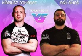 Mariusz Domasat vs Ash Amos - 100 kg [Video]