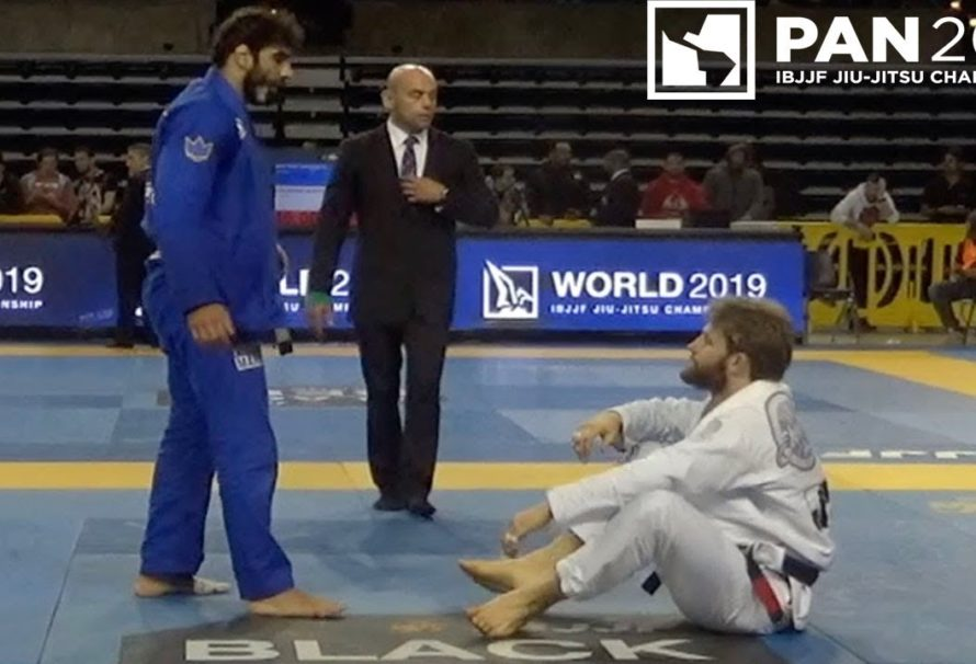 Adam Wardziński vs Leandro Lo na IBJJF Pan Ams 2019 [Video]