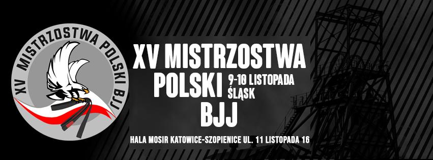 XV Mistrzostwa Polski BJJ w Katowicach – komunikat organizacyjny