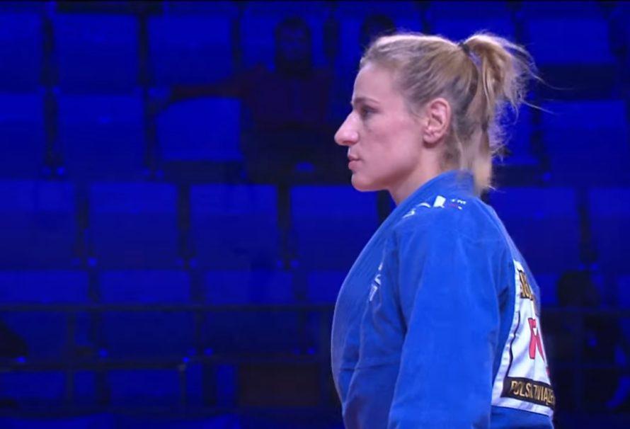 Anna Augustyn-Mitkowska ze złotym medalem Mistrzostw Świata Grapplingu