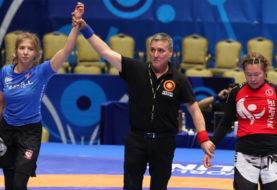 Zofia Szawernowska zdobywa podwójny tytuł Mistrzyni Świata Grapplingu
