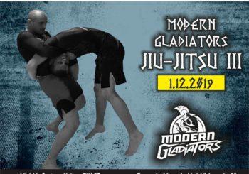 Gala Modern Gladiators Jiu-Jitsu III sub-only w grudniu w Tomaszowie Mazowieckim