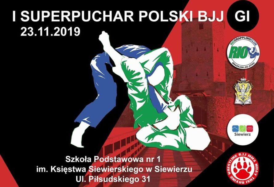 I SuperPuchar Polski BJJ Gi w Siewierzu