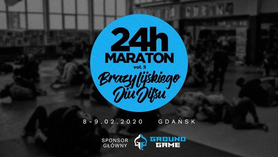 24h Maraton BJJ w Złomiarz Team Gdańsk zaplanowany na początek 2020!