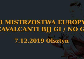 III Mistrzostwa Europy Cavalcanti BJJ Gi i No-Gi w Olsztynie na początku grudnia