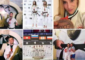 Zdobycze medalowe kadry seniorów na Mistrzostwach Świata Ju-Jitsu w Abu Dhabi