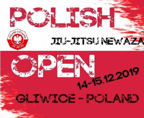 Skład kadry na Polish Open 2019 Ju-jitsu Ne-Waza w Gliwicach