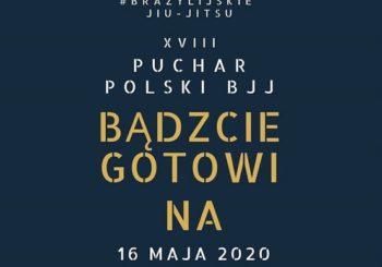 Ogłoszenie terminu XVIII Pucharu Polski BJJ