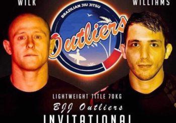 Kamil Wilk vs Ashley Williams w main evencie na BJJ Outliers Invitational