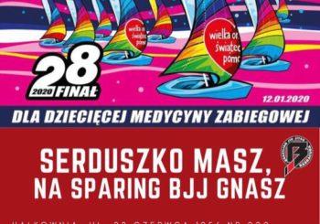 Sparingi BJJ dla WOŚP w Barracuda Poznań już w niedzielę