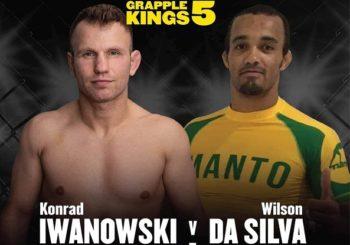 Konrad Iwanowski zawalczy na Grapple Kings 5 przeciwko Wilsonowi da Silvie