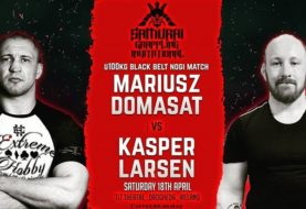 Mariusz Domasat zawalczy z Kasperem Larsenem na Samurai Grappling Invitational