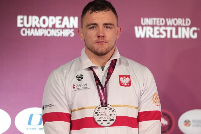 Robert Baran wicemistrzem Europy seniorów w zapasach. Finał stoczył z Geno Petriashvilim.