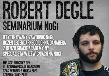 Seminarium z Robertem Degle w Dragon's Den w Warszawie
