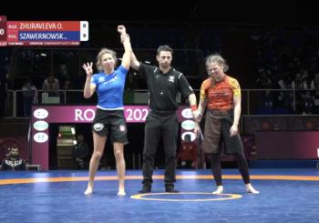Wyniki ME Grapplingu: Zofia Szawernowska dominuje w finale Rosjankę i zdobywa złoto [wideo]