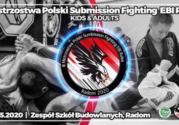 III Mistrzostwa Polski Submission Fighting EBI Rules zawitają w Radomiu w maju