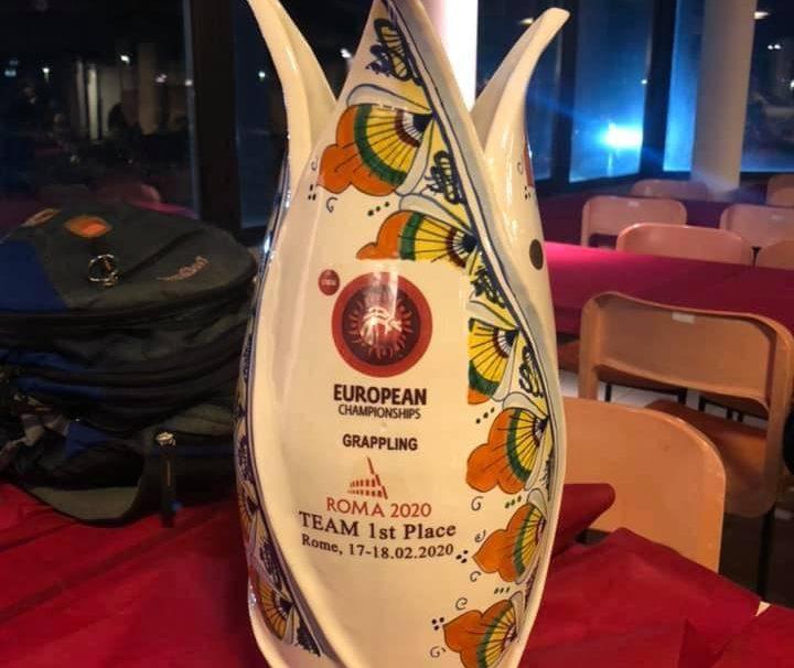 Polacy drużynowym Mistrzem Europy w Grapplingu No-Gi !!