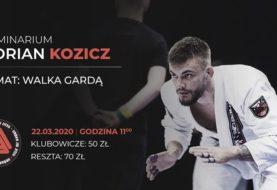 Adrian Kozicz poprowadzi seminarium w marcu w Urban Jiu Jitsu Białystok
