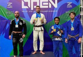 Bartosz Zawadzki zdobywa podwójne złoto na Portland Open IBJJF