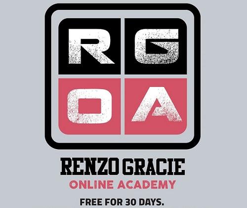 Darmowy miesiąc na Renzo Gracie Online Academy już teraz!