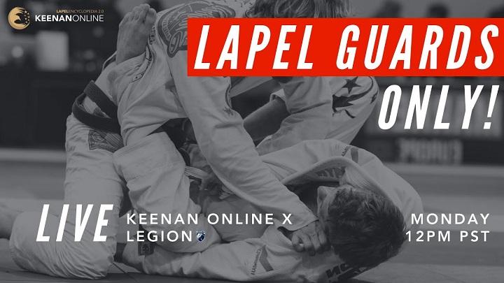 Odcinek Legion Live z Keenanem Corneliusem – lapel guards [wideo]