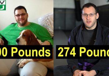 Mark Lovegrove - człowiek, któremu kilogramy nadały rozpędu w BJJ [wideo]