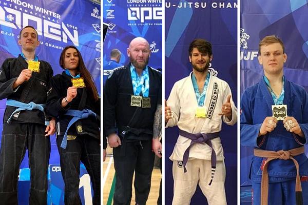 Wyniki London Winter Open IBJJF 2020: worek medali dla naszych rodaków