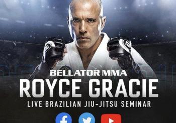 Seminarium on-line z legendą  Roycem Gracie [wideo]