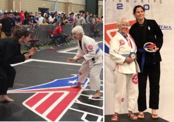 """""""Jiu jitsu grandma"""" - aktywna zawodniczka i inspiracja dla wielu"""