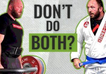 Czy zawodnicy jiu-jitsu powinni uprawiać trójbój siłowy? Odpowiada Chad Wesley Smith